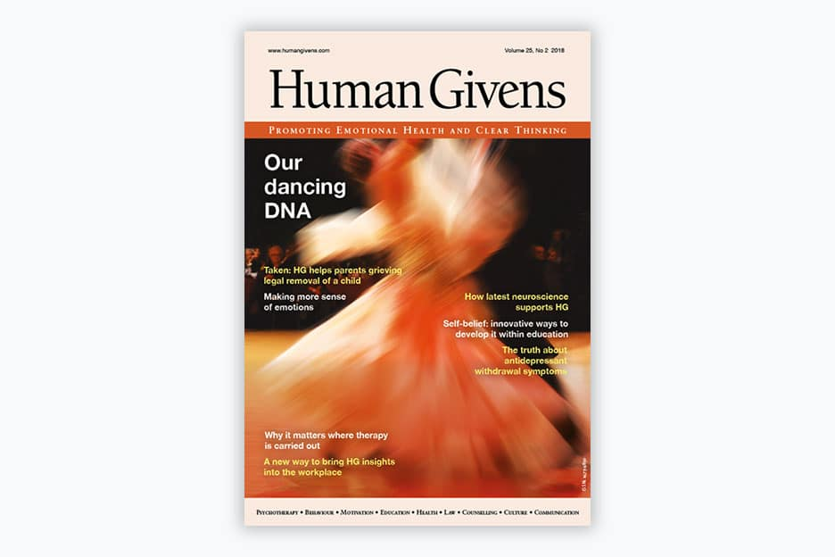 Human Givens Journal - Volume 25, No 2, 2018