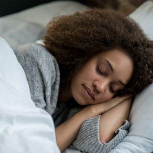 Lady sleeping - why do we dream