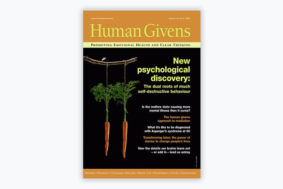 Human Givens Journal - Volume 13, No 3, 2006