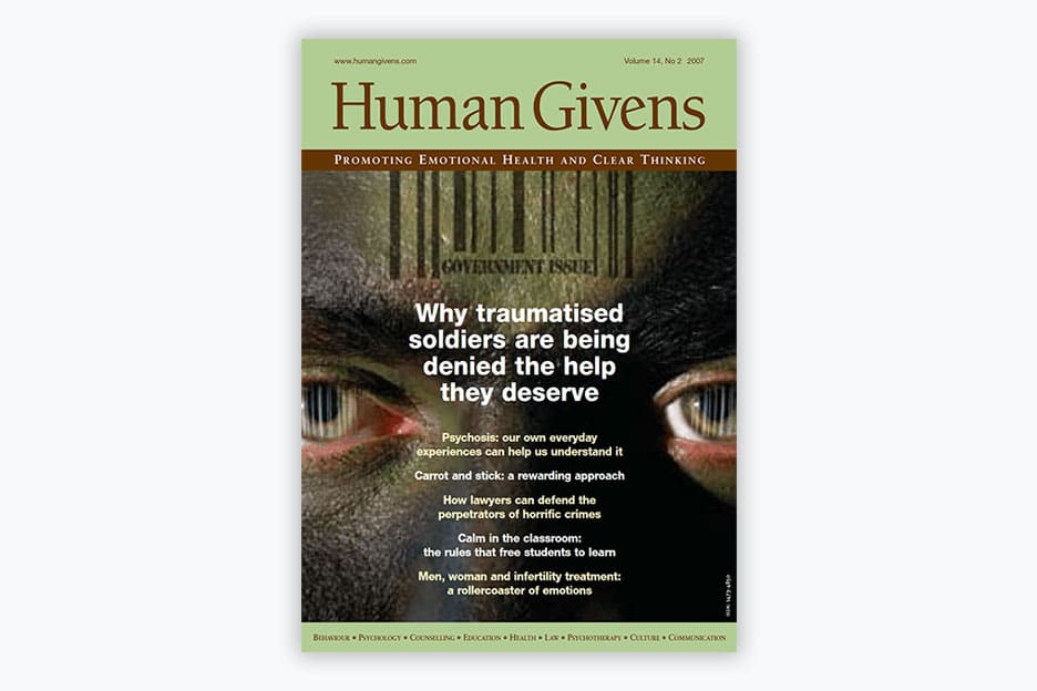 Human Givens Journal - Volume 14, No 2, 2007