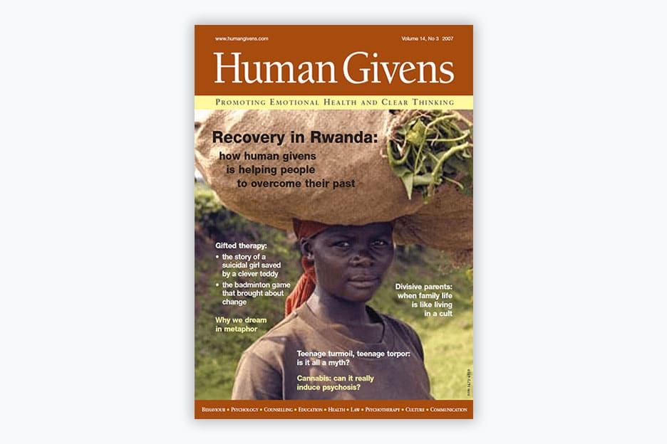 Human Givens Journal - Volume 14, No 3, 2007