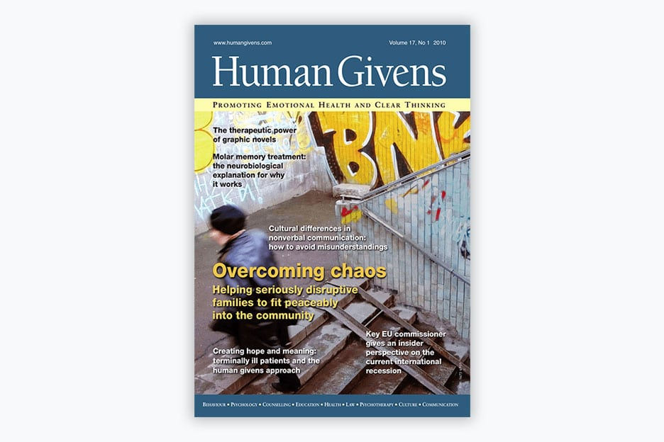 Human Givens Journal - Volume 17, No 1, 2010