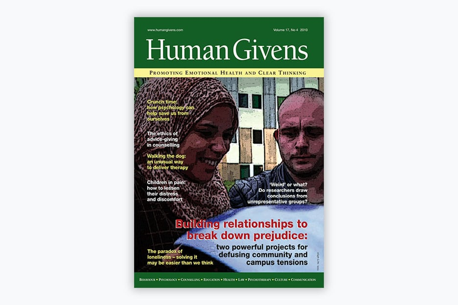 Human Givens Journal - Volume 17, No 4, 2010