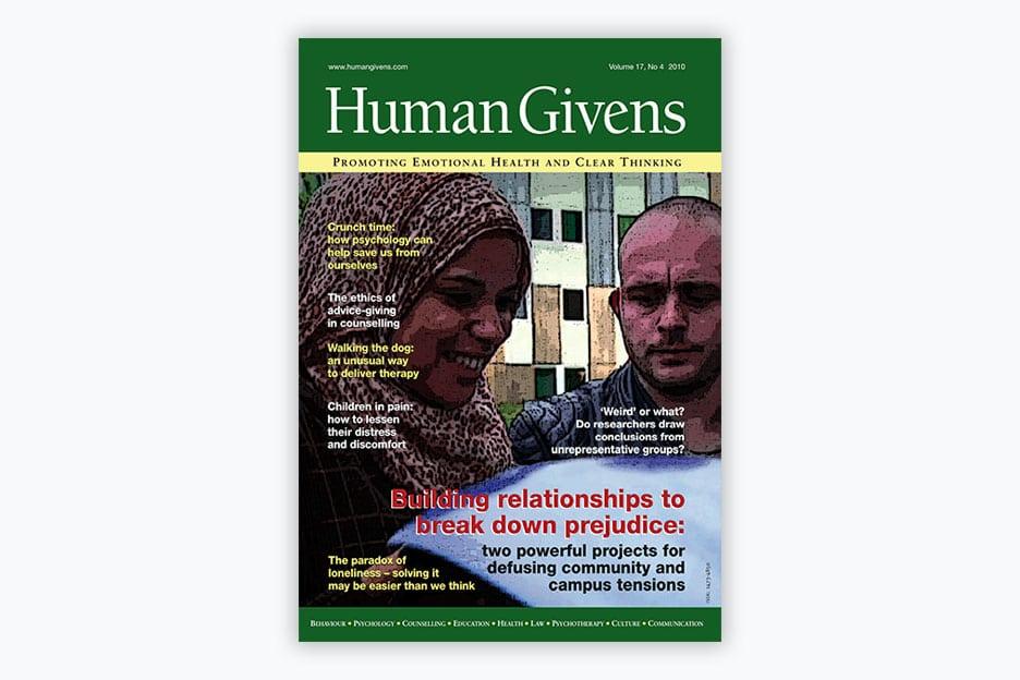Human Givens Journal - Volume 17, No 4, 2010