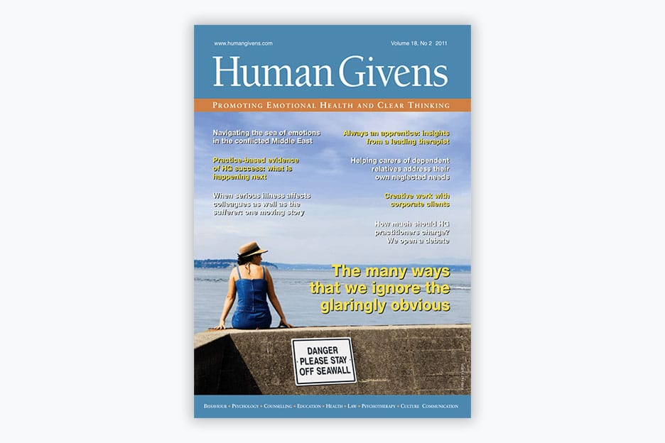 Human Givens Journal - Volume 18, No 2, 2011