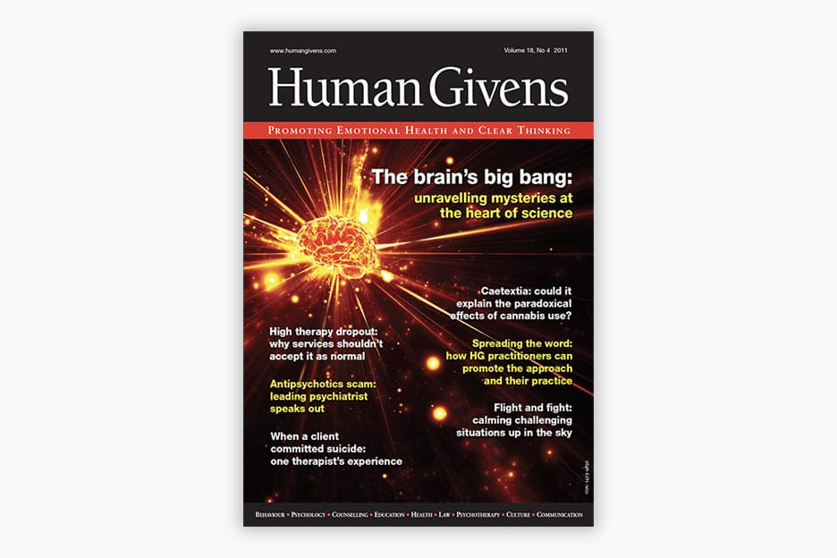 Human Givens Journal - Volume 18, No 4, 2011