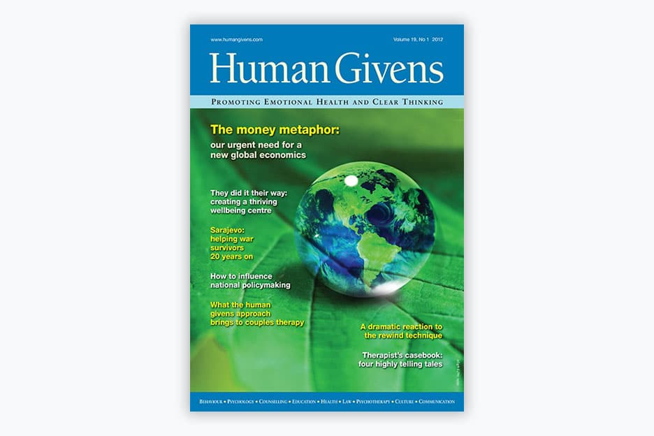 Human Givens Journal - Volume 19, No 1, 2012