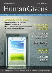 Human Givens Journal - Volume 19, No 2, 2012