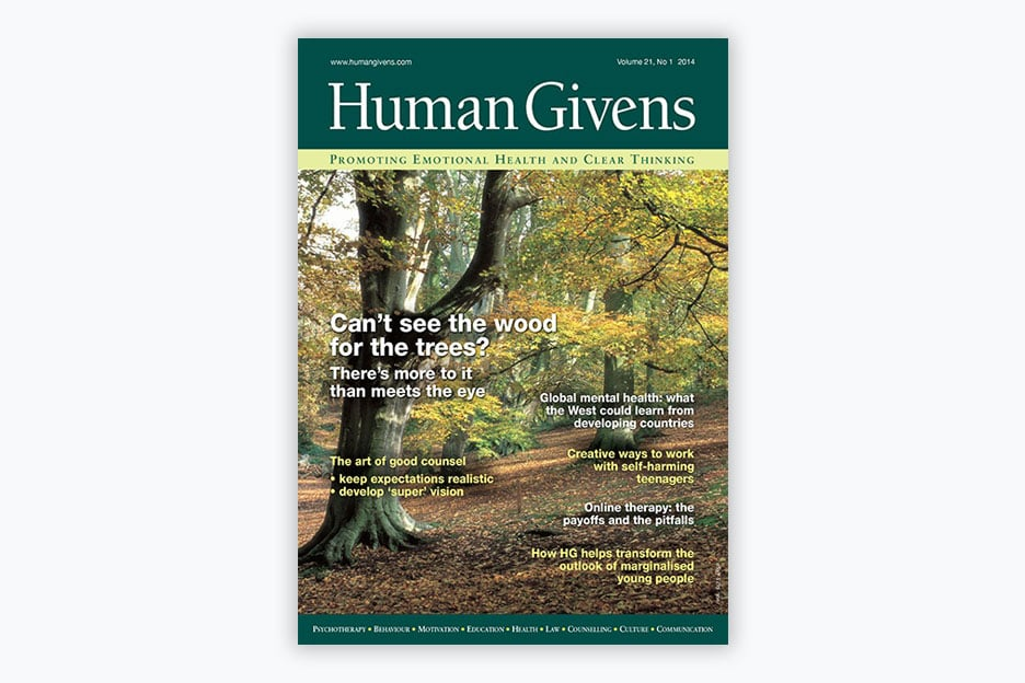 Human Givens Journal - Volume 21, No 1