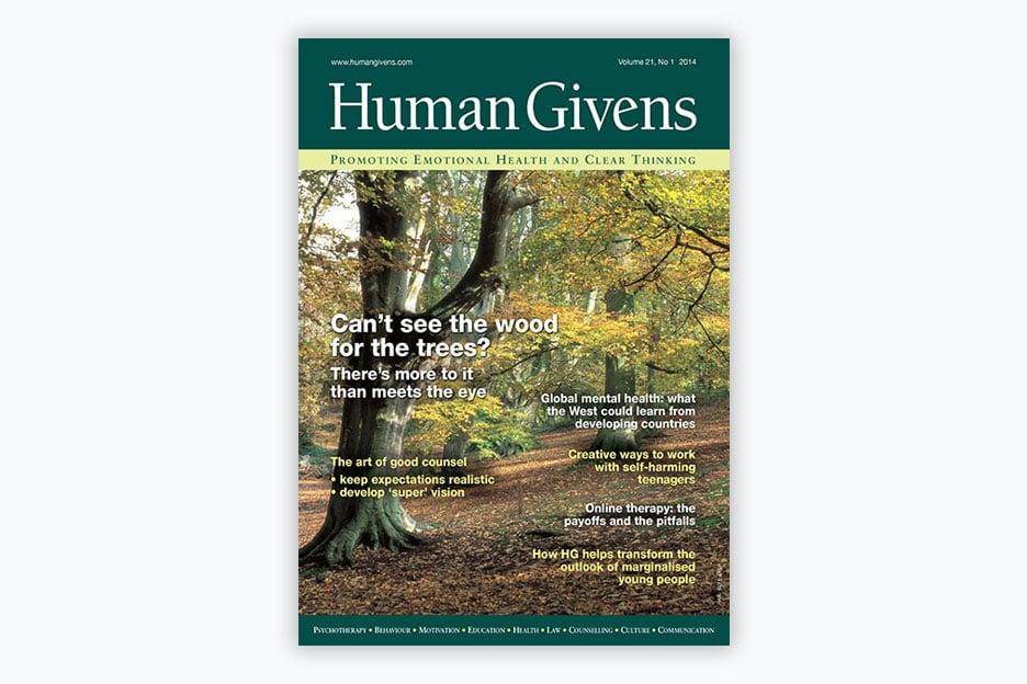 Human Givens Journal - Volume 21, No 1