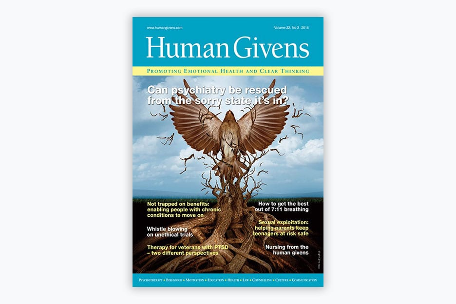 Human Givens Journal - Volume 22, No 2, 2015