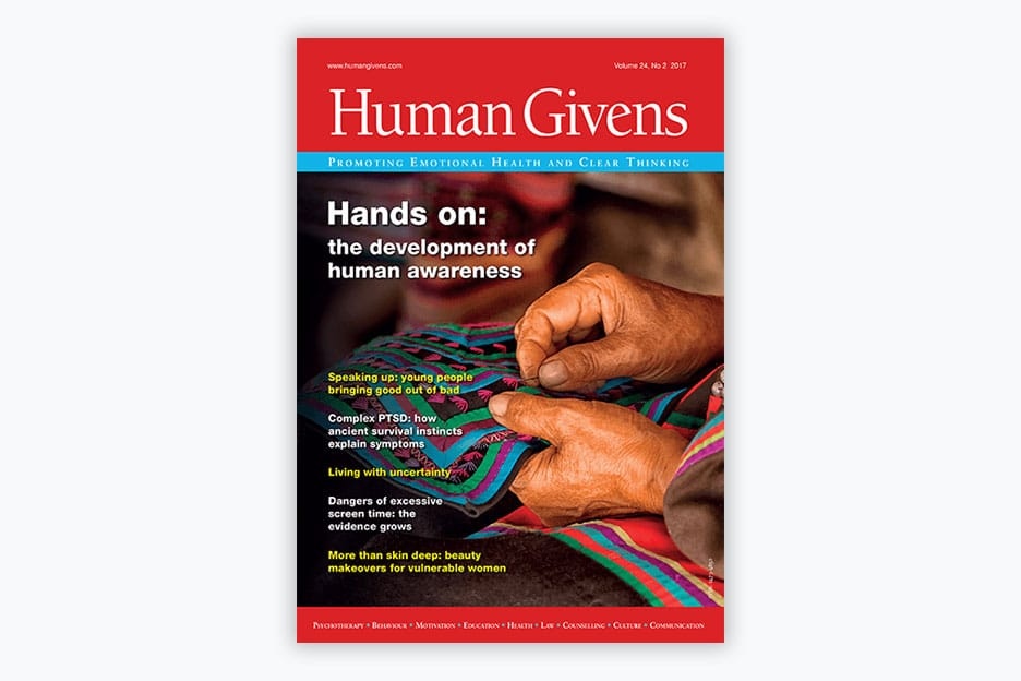 Human Givens Journal - Volume 24, No 2, 2017