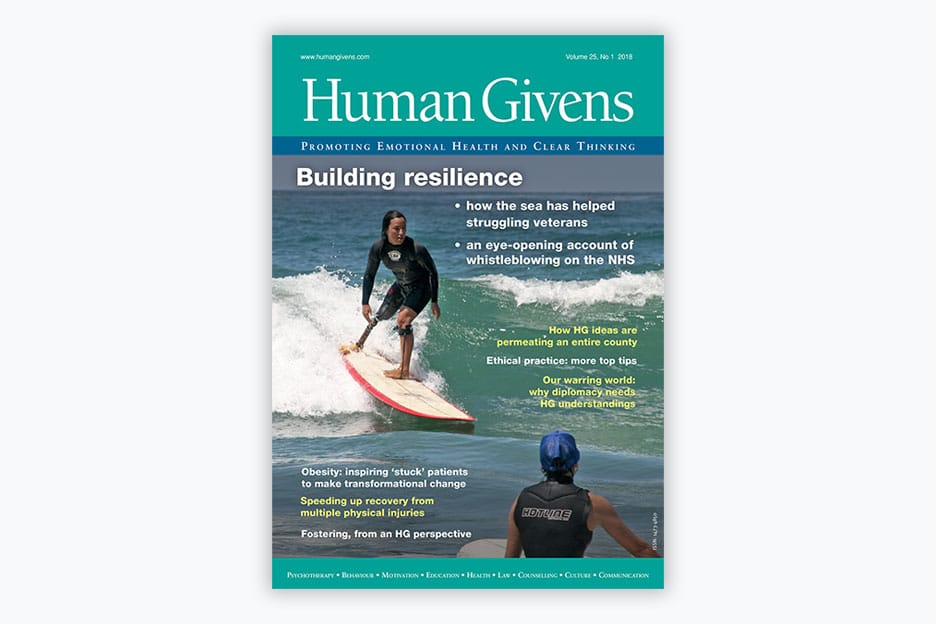 Human Givens Journal - Volume 25, No 1, 2018