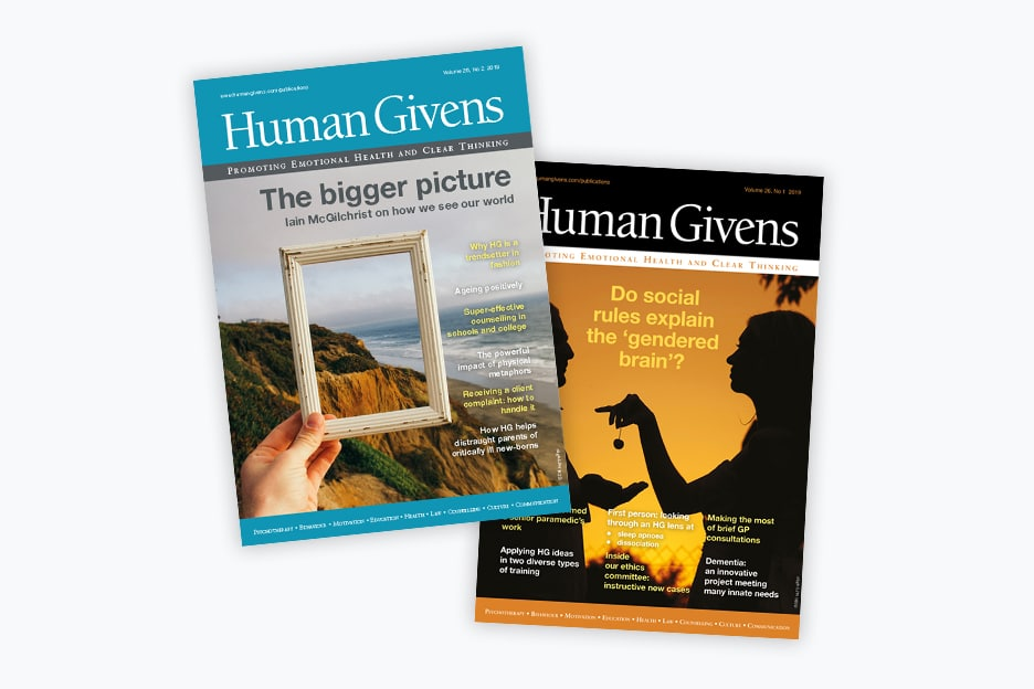 Human Givens Journal subscription