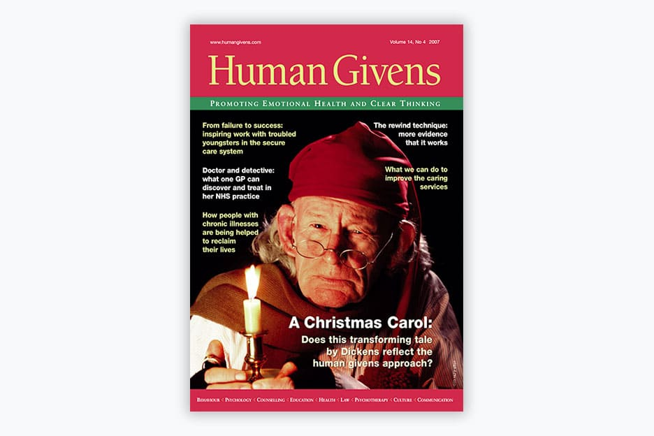 Human Givens Journal Volume 14, No 4, 2007