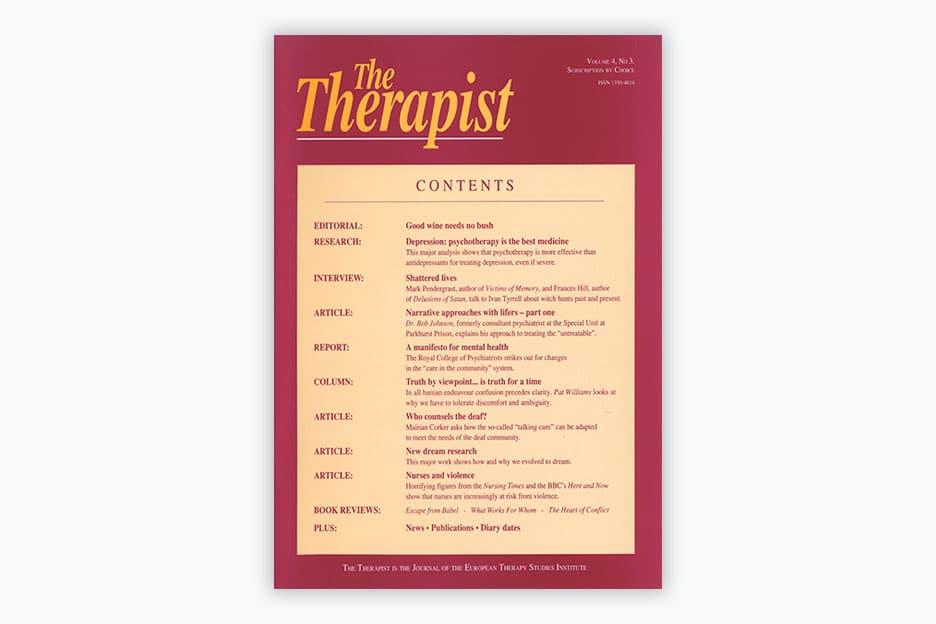 The Therapist - Volume 4, No 3 (1997)