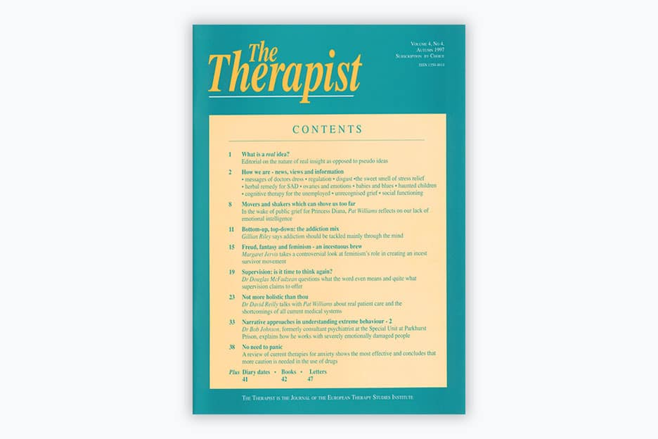 The Therapist - Volume 4, No 4 (1997)