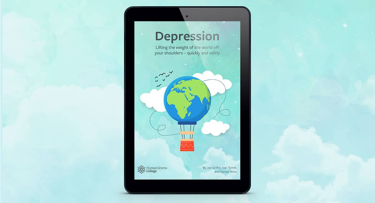 Free Depression ebook - Lifting the weight of the world off your shoulders … quickly and safely