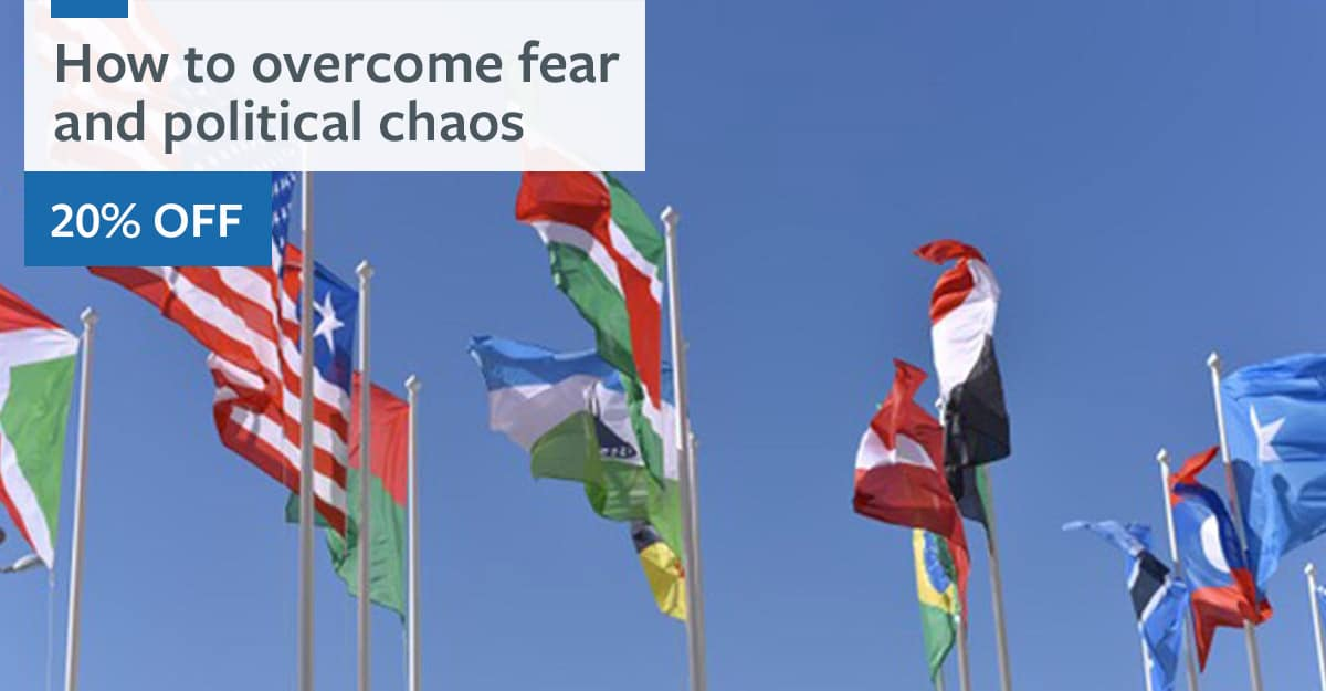 How to overcome fear and political chaos course card