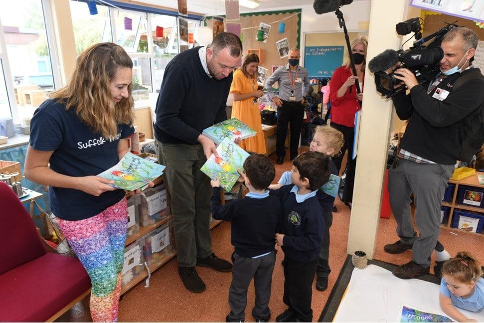Suffolk Mind book launch