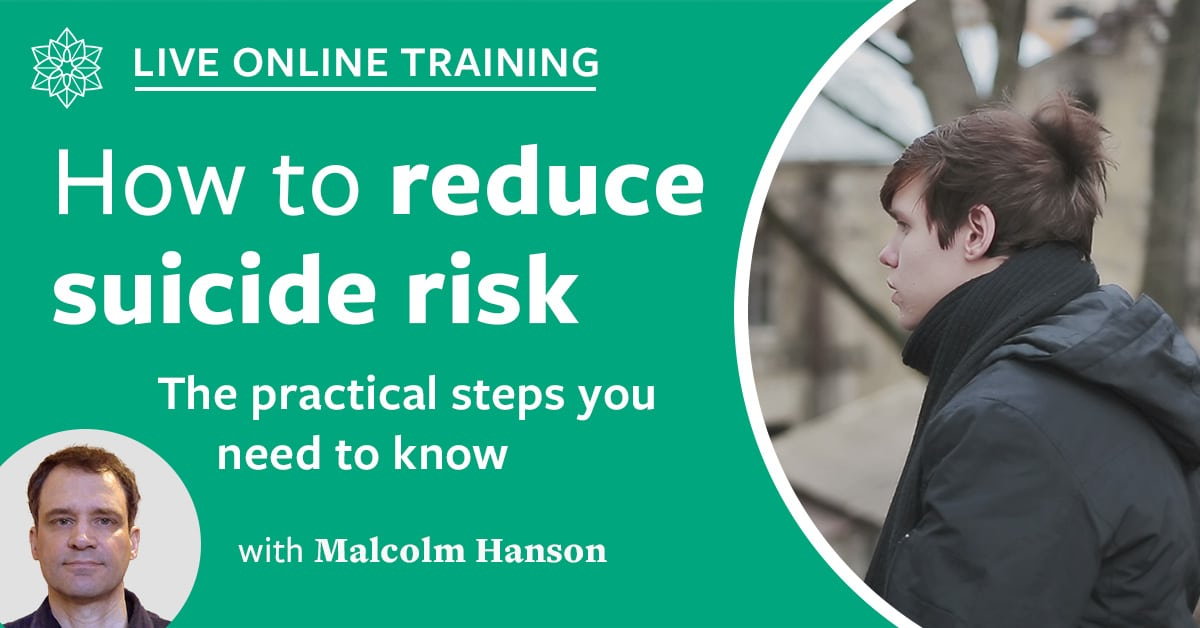 How to manage suicide risk course image
